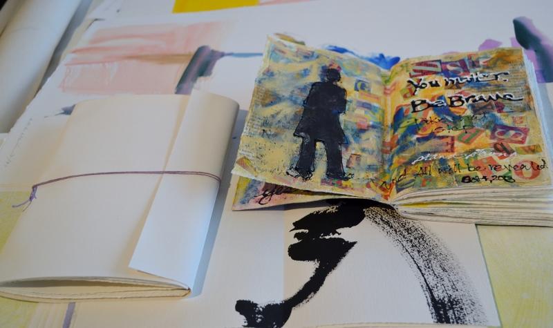 transformed art journals