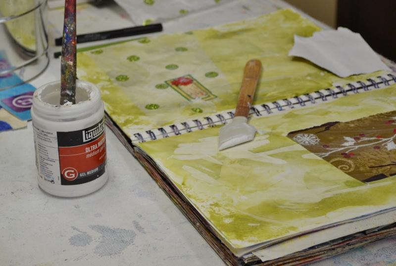 AJP - paint, glue & doodle