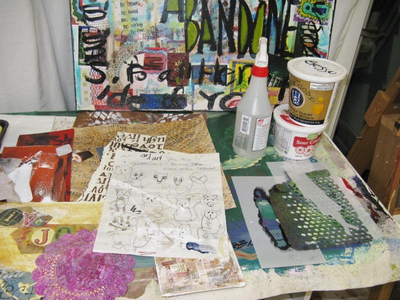 studio view 4 Jan.2014
