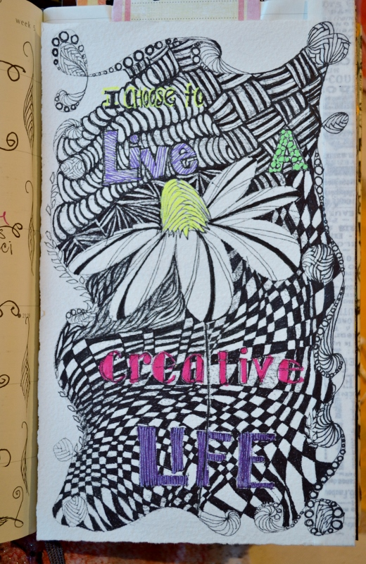 DLP week 5 - I got carried away with the doodle border (sigh...).